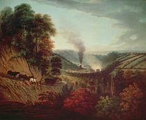 Morning view of Coalbrookdale von William Williams