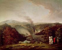 Afternoon view of Coalbrookdale von William Williams