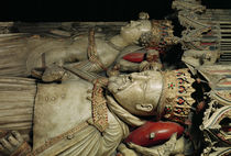 Effigy of Henry IV on his Tomb in Canterbury Cathedral by English School