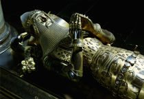Effigy of Edward the Black Prince by English School