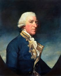 Admiral Samuel Hood, 1st Viscount Hood 1784 by James Northcote