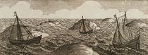 Pelsaert Sets Sail and Makes his Way Between Islands von Dutch School