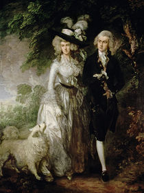 Mr and Mrs William Hallett by Thomas Gainsborough