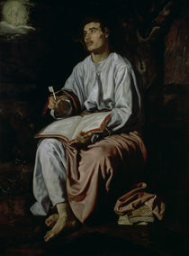 St. John the Evangelist on the Island of Patmos by Diego Rodriguez de Silva y Velazquez