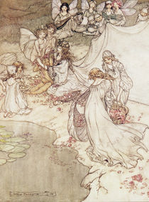 Illustration for a Fairy Tale by Arthur Rackham