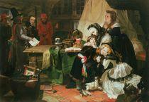 Marie Antoinette and her children by Edward Matthew Ward