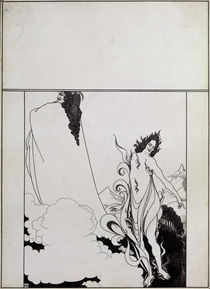 Fourth tableau of Das Rheingold von Aubrey Beardsley