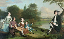 A family of Anglers, 1749 by Arthur Devis
