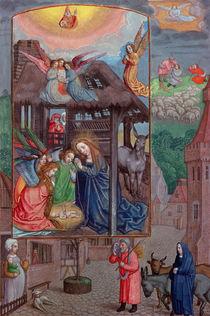 Codex Ser Nov 2844 Birth of Christ von Flemish School