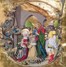 Codex 15.501 The Adoration of the Kings von German School