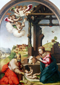 Adoration of the Holy Child by Biagio Pupini