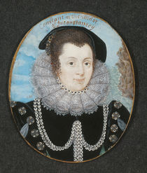 Margaret Clifford Countess of Cumberland by Lawrence Hilliard