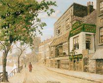 Cheyne Walk, Chelsea, 1857 von Walter Greaves