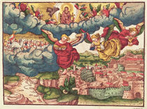 Last Judgement, from the Luther Bible by German School