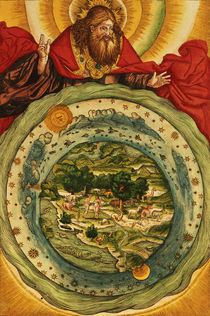 The Creation, from the Luther Bible von German School