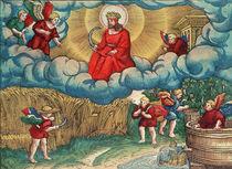 Revelations 14:14 The Reaper by German School