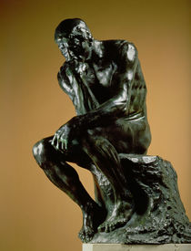 The Thinker, 1881 by Auguste Rodin