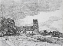 Feering Church, 1814 von John Constable