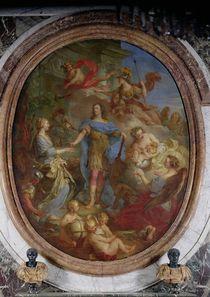 Louis XV Giving Peace to Europe von Francois Lemoyne