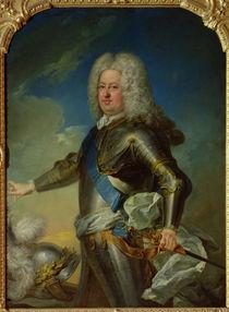 Portrait of Stanislas Lesczinski King of Poland von Jean-Baptiste van Loo