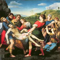 The Entombment, after a Painting by Raphael in the Villa Borghese von Il Sassoferrato