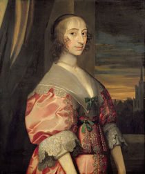 Lady Hoghton, wife of the lst Baronet von Anthony van Dyck