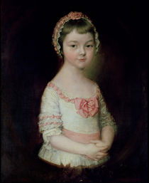 Georgiana Spencer, afterwards Duchess of Devonshire von Thomas Gainsborough