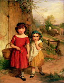 Little Villagers, 1869 by George Smith