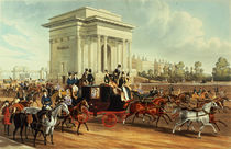 Hyde Park Corner, after James Pollard by English School