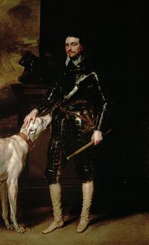 Thomas Wentworth, 1st Earl of Strafford 1633-6 by Anthony van Dyck