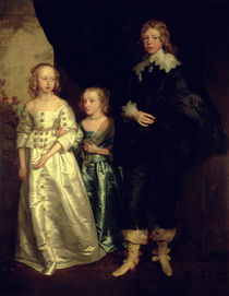 The Children of Thomas Wentworth von Anthony van Dyck