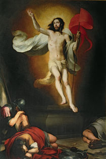The Resurrection of Christ von Bartolome Esteban Murillo