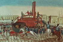 Execution of Louis XVI 21st January 1793 von French School