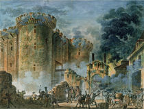 The Taking of the Bastille von Jean-Pierre Houel