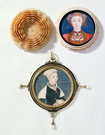 Anne of Cleves , 1539 and Jane Small von Hans Holbein the Younger