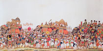 Durbar Procession, c.1815 by Indian School