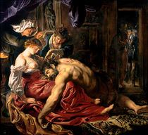 Samson and Delilah, c.1609 von Peter Paul Rubens