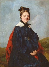 Alexina Ledoux, c.1840 by Jean Baptiste Camille Corot