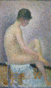 Model in Profile, 1886 by Georges Pierre Seurat