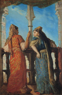 Jewish Women at the Balcony by Theodore Chasseriau