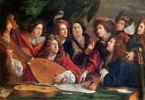 The Musical Society, 1688 by Francois Puget