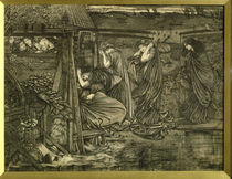 The Wise and Foolish Virgins by Edward Coley Burne-Jones