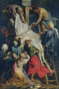 Descent from the Cross, 1617 von Peter Paul Rubens