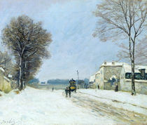 Winter, Snow Effect, 1876 by Alfred Sisley