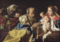 Adoration of the Magi von Matthias Stomer