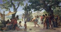Throwing the Discus, 1875 by Edouard-Joseph Dantan