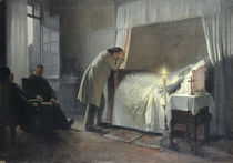 The Death Bed of Madame Bovary by Albert-Auguste Fourie