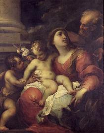 The Holy Family by Valerio Castello