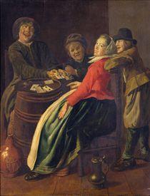 A Game of Cards von Judith Leyster
