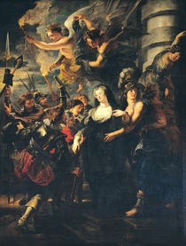 The Medici Cycle: Marie de Medici Escaping from Blois von Peter Paul Rubens